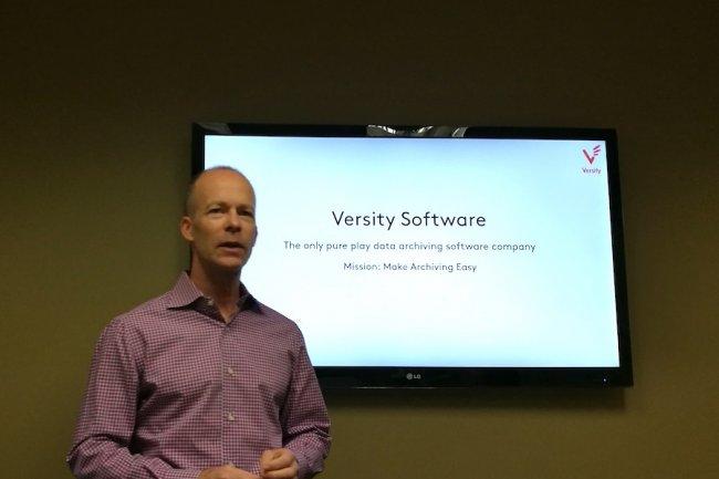 Bruce Gilpin, le CEO de Versity Software, préfère travailler avec des investisseurs comme Cray capable de lui apporter du chiffre d'affaires.