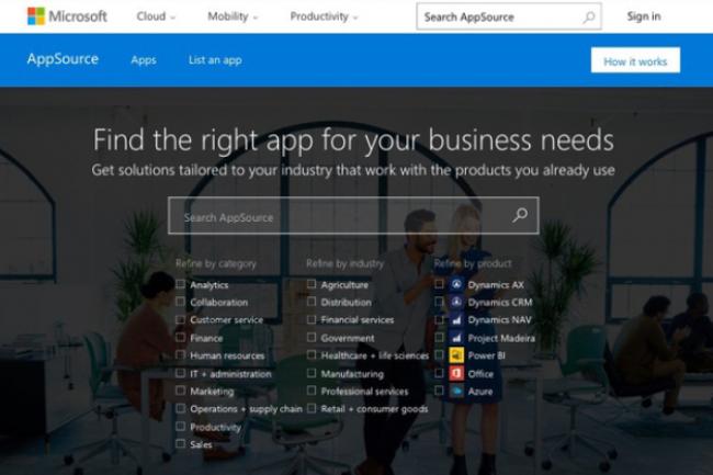 La plateforme de téléchargement d'applications d'entreprises de Microsoft pourrait être présentée en juillet lors de l'événement WPC 2016. (crédit : D.R.)