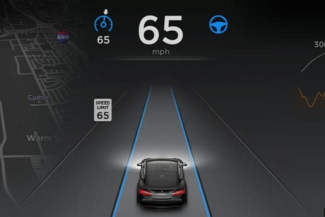 Tesla est impliqu� dans un accident mortel d'un v�hicule dont la conduite autonome �tait activ�e. (cr�dit : D.R.)