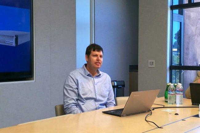 Zivan Ori, CEO d'E8 Storage, compte s'installer très bientôt dans la Silicon Valley pour assurer le développement de sa start-up. (crédit : Serge Leblal)