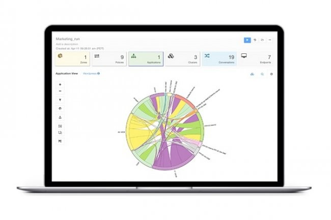 Tetration Analytics combine des capteurs pour le réseau et les serveur afin de simplifier l'administration et la sécurité des datacenters. (crédit : D.R.).