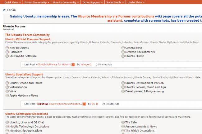 Les utilisateurs de Forums Ubuntu doivent être vigilants, leurs mails pouvant être exploités pour des opérations de spams et de phishing. (crédit : D.R.)