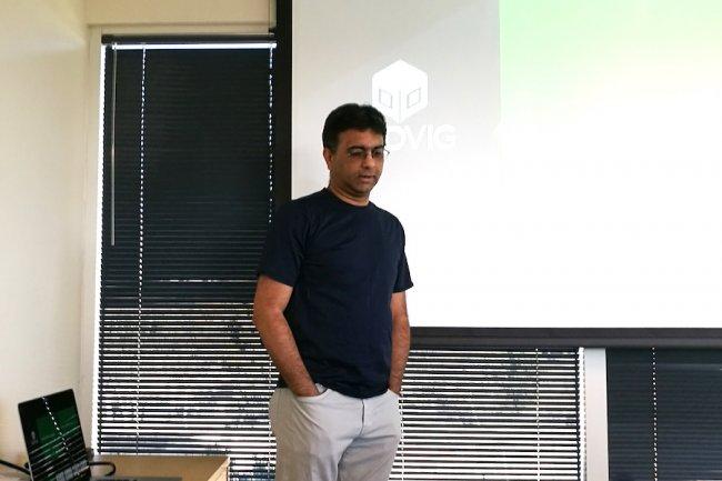 CEO et fondateur d'Hedvig, Avinash Lakshman a renforcé sa plate-forme SDS avec le support des containers. (crédit : D.R.)