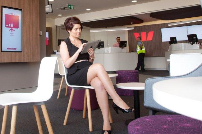 La banque australienne Westpac arrive en tête du classement des services mobiles bancaires du cabinet Forrester. (Crédit Westpac)
