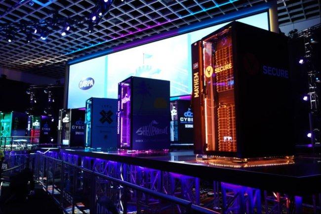 La dernière épreuve du Cyber Grand Challenge de la Darpa s'est tenue hier durant l'édition 2016 de DefCon, à Las Vegas. (crédit : Mickael Kan)