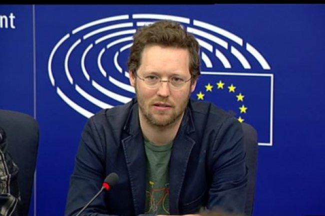 Jan Philipp, député vert allemand, membre du parlement européen. (crédit : D.R.)