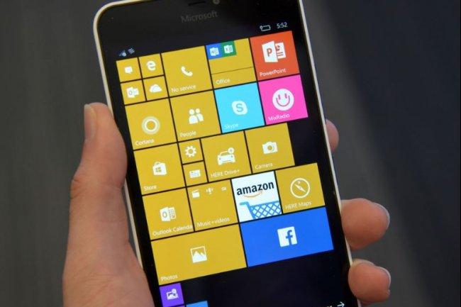 Microsoft livre une mise à jour de Windows 10 Mobile (ci-dessus, Windows 10 Mobile sur un Nokia 640 XL/Crédit : Martyn Williams/IDGNS).