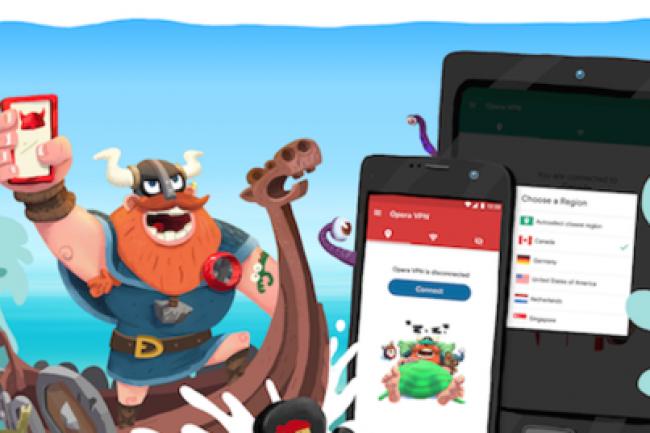 Le service VPN gratuit d'Opera sur Android est opéré par SurfEasy, une société canadienne rachetée en 2015. (crédit : D.R.)