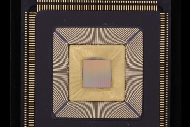 Le processeur Piton de 25 coeurs conçu par des chercheurs de l'Université de Princeton est basé sur un design OpenSparc. (crédit : Université de Princeton)
