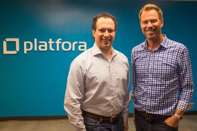Ben Werther, cofondateur et président de Platfora, et Jason Zintak, CEO de la start-up, passent sous la coupe de Workday.