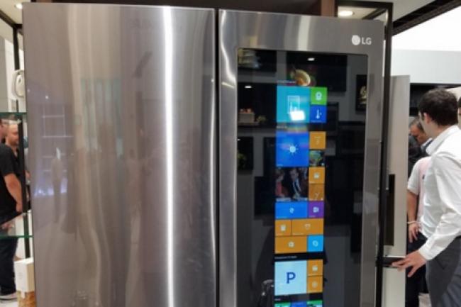 refrigerateur connecte