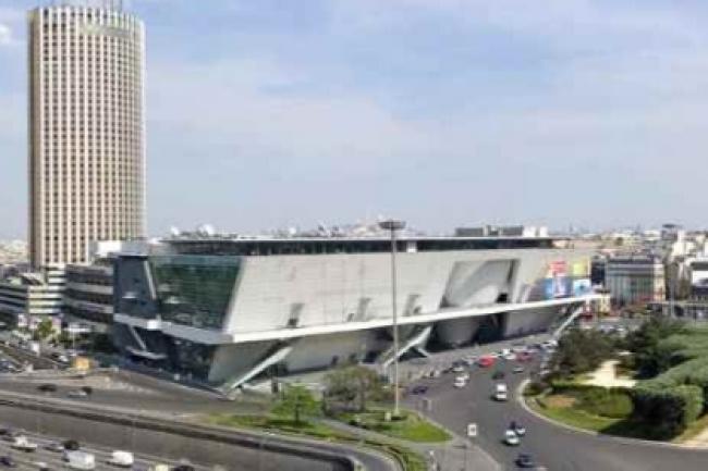 Le Palais des Congrès de Paris propose à ses visiteurs le service Smart Visit basé sur une connexion mobile haut débit.(crédit : D.R.)