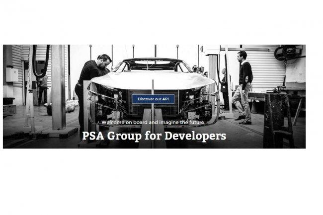 L'API Rest de PSA Peugeot-Citroën permet d'accéder à des informations de base dont les données de télémétrie : vitesse moyenne, localisation, consommation instantanée, vitesse du moteur, etc.