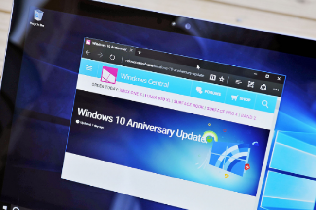 Les mises à jour de sécurité de Windows 10 sont regroupées dans un bundle unique qui agace bon nombre d'administrateurs. (crédit : D.R.)