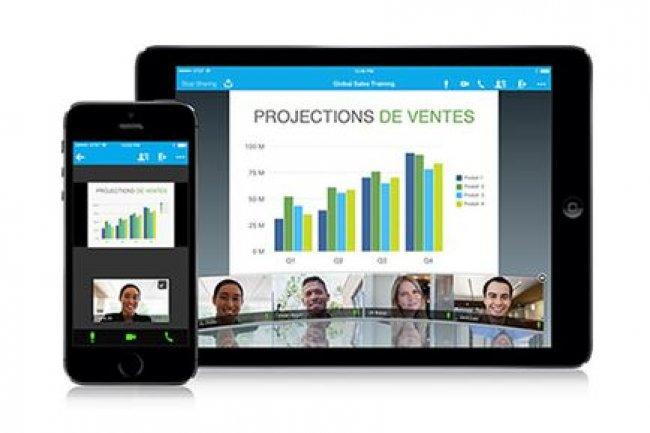 En intégrant ses logiciels de collaboration Spark et WebEx aux applications cloud de Salesforce, très utilisées en entreprise, Cisco espère favoriser leur taux d'adoption, notamment parmi les commerciaux. (crédit : D.R.)