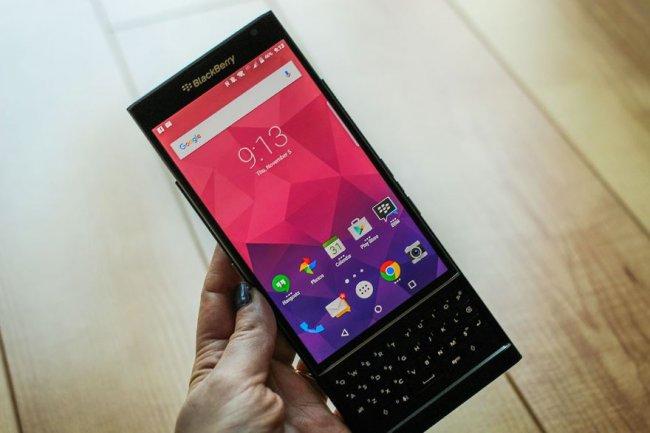 Le Priv pourrait �tre la derni�re production de BlackBerry en tant que fabricant de smartphones. (cr�dit : Florence Ion/PC World)