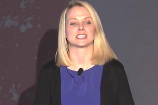Marissa Meyer a accepté l'intrusion des services de renseignement dans la messagerie Mail. (Crédit D.R.)