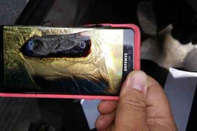 Samsung a annoncé un ajustement des volumes de production de son Galaxy Note 7  en raison de risques d'explosion. Crédit: D.R.
