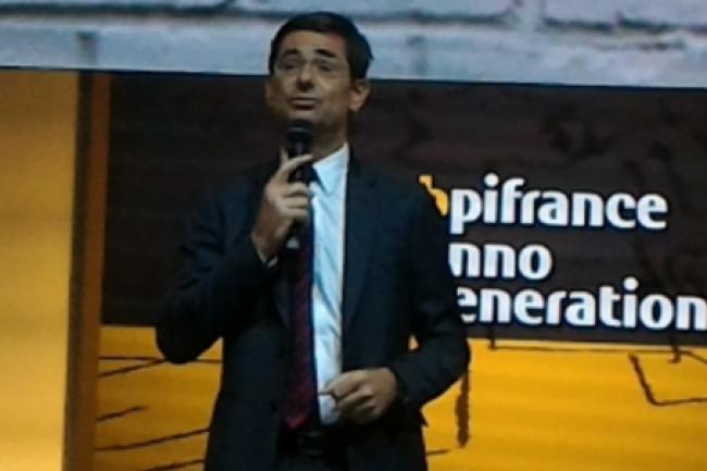 Nicolas Dufourcq est directeur général de Bpifrance depuis janvier 2013 et a été notamment ancien directeur financier de Capgemini. (crédit : LMI)