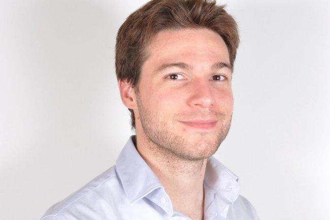 Antoine Grimaud, COO de PayPlug, a créé avec Camille Tyan la start-up installée sur le marché des prestataires de paiement pour PME.