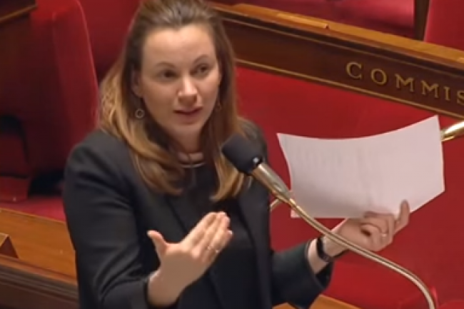 Axelle Lemaire, secrétaire d'Etat chargée du Numérique, et le CNNum ont critiqué la mise en place de la base de données TES centralisant les informations personnelles de 66,6 millions de Français. (crédit : D.R.)