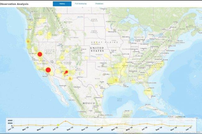 Parmi les nouveautés annoncées avec Hana 2 sur son TechEd de Barcelone, SAP a présenté le service de données spatiales développé avec l'ESA.