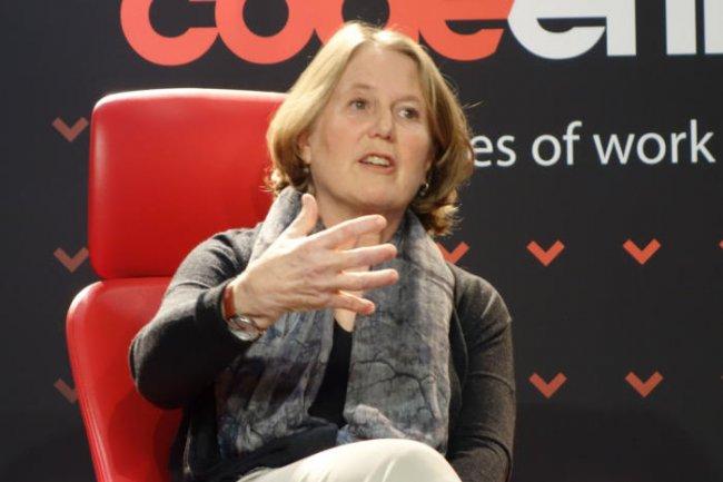 « Il y a beaucoup de choses que l'apprentissage machine ne fait pas et que les humains peuvent faire vraiment, vraiment bien », selon Diane Green, responsable de l'activité Google Cloud. (crédit : D.R.)