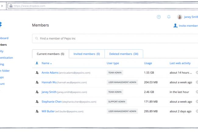 Fort de plusieurs partenariats dans la sécurité et le contrôle d'accès, DropBox Business espère rassurer les entreprises désirant déployer des services de partage de fichiers en ligne.