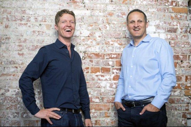 Tableau Software peut désormais s'appuyer sur l'expertise d'Adam Selipsky, ancien COO d'AWS (à droite au côté de Christian Chabot, co-fondateur de Tableau), pour se renforcer dans le cloud. (Crédit: D.R.)