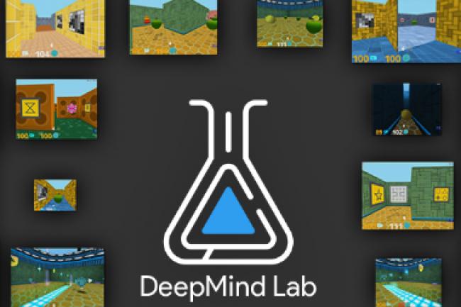 En mettant en open souce sa plateforme DeepMind Lab, Google espère contribuer à l'essor de jeux VR dopés à l'intelligence artificielle. (crédit : D.R.)