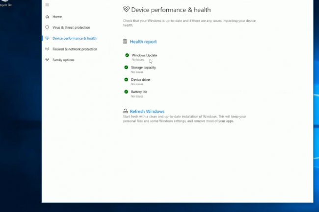 Des améliorations au niveau de la gestion des paramètres de performance sont à noter dans la Build 14977 de Windows 10. (crédit : D.R.)