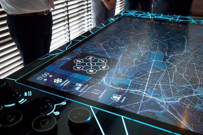 L'entrée d'Intel au capital de Here permettra au service de cartographie de bénéficier de plateformes de calcul embarquées plus puissantes. Crédit : D.R.