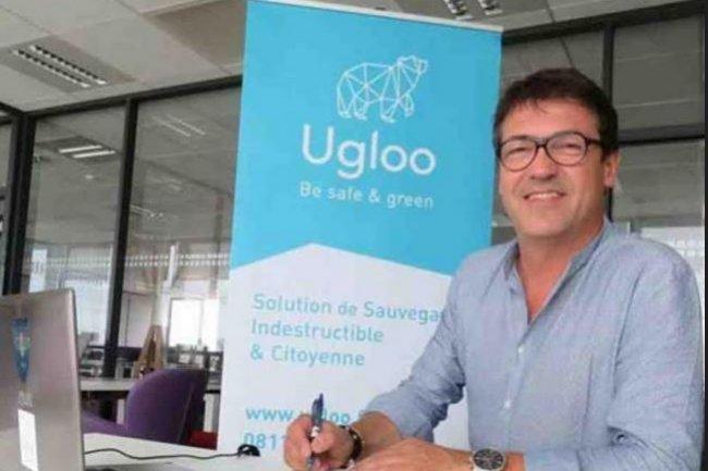 Les fonds r�colt�s par la start-up Ugloo fond�e il y a deux ans par Christophe Laire (ci-dessus)  seront consacr�s � l'acc�l�ration du d�veloppement de sa solution de sauvegarde des donn�es qui s'affranchit des datacenters. Cr�dit: D.R.