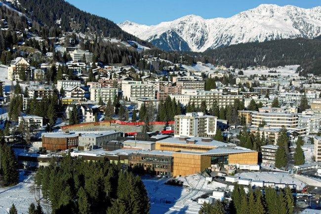 Au Davos 2017, l'ordre du jour est très focalisé sur la technologie et la quatrième révolution industrielle. (Crédit D.R.)