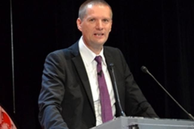 Guillaume Poupard, directeur g�n�ral de l'ANSSI a propos� dans son rapport conjoint remis avec le DSI de l'Etat Henri Verdier, des propositions pour faire �voluer TES. (cr�dit : LMI)