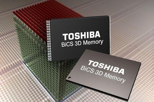 le dynamisme du marché de la mémoire va contribuer à la hausse de ventes globales de semi-conducteurs en 2017. (Crédit Toshiba)