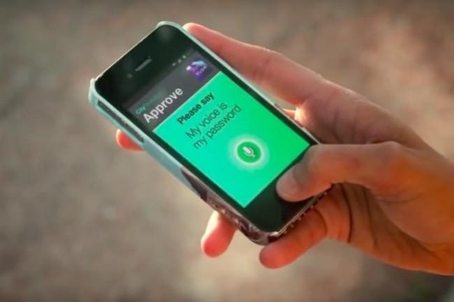 La technologie biométrique vocale de Nuance Communications permet d'éviter l'identification par mots de passe dans les entreprises. (Crédit: Nuance)