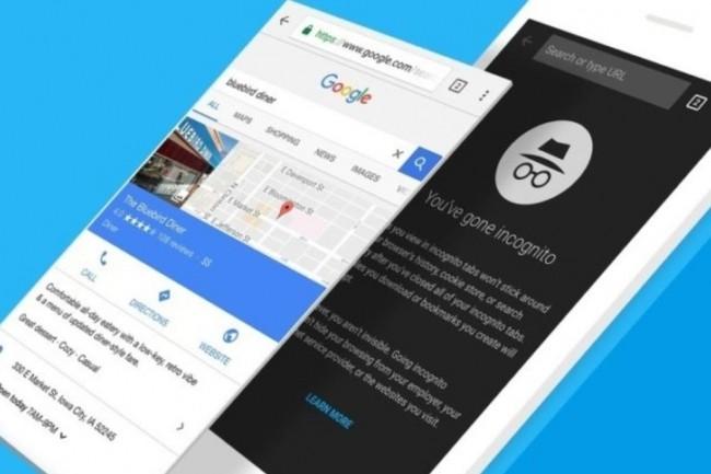 Chromium, le projet de navigateur web open source de Goole a été compilé pour la plateforme mobile d'Apple. (Crédit : D.R.)