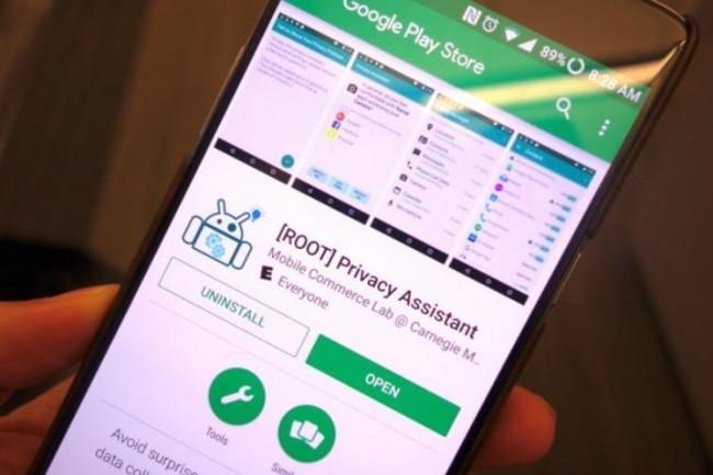 Des chercheurs de l'université de Carnegie Mellon ont conçu une app proposée gratuitement pour contrôler le partage des données depuis un smartphone Androir rooté. (crédit : Michael Kan)