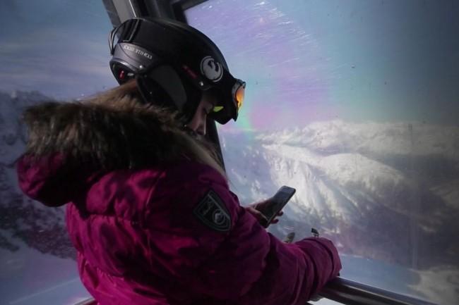 La compagnie du Mont Blanc utilise la solution Flux Vision d'OBS pour analyser les données techniques mobiles de la clientèle touristique. (crédit : Orange)