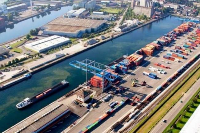 Les plates-formes de Naviland Cargo (ici : � Strasbourg) basculent vers la VoIP. (cr�dit : D.R.)
