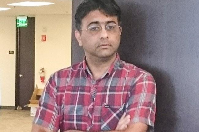 CEO et fondateur d'Hedvig, Avinash Lakshman accueille les fonds d'investissement de HPE et Singapour dans son capital. (crédit : S.L.)