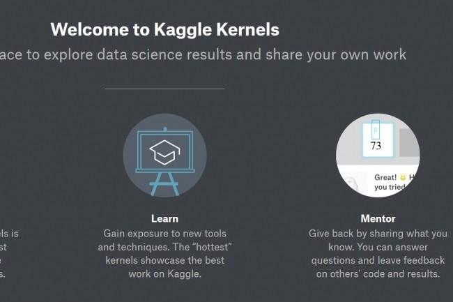 Google a officialisé le rachat de Kaggle et de sa communauté de datascientists lors de l'évènement Cloud Next. (Crédit: D.R.)