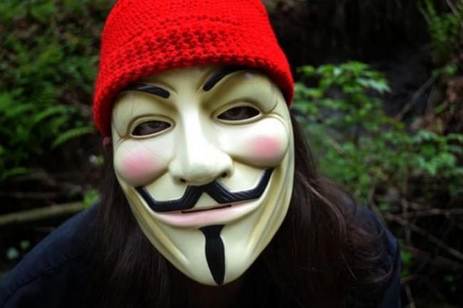 Les Anonymous sont des hacktivistes en puissance. (cr�dit Zaimful)