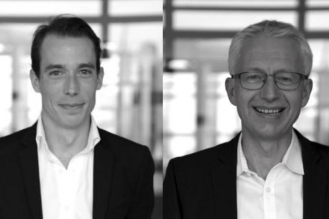 Antoine Maurice (à gauche) et Thierry Lebrun sont respectivement les nouveaux directeurs des ventes et directeur des opérations de Digitim. (Crédit photo : D.R.)