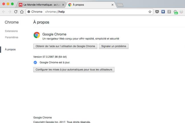 Un Chrome moins gourmand en énergie fait désormais parti des objectifs de Google.