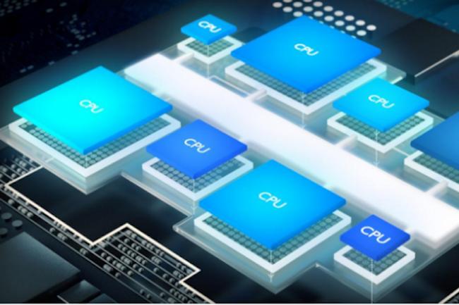Le design DynamIQ de ARM devrait rendre les processeurs de l'entreprise beaucoup plus performants. (Crédit ARM)