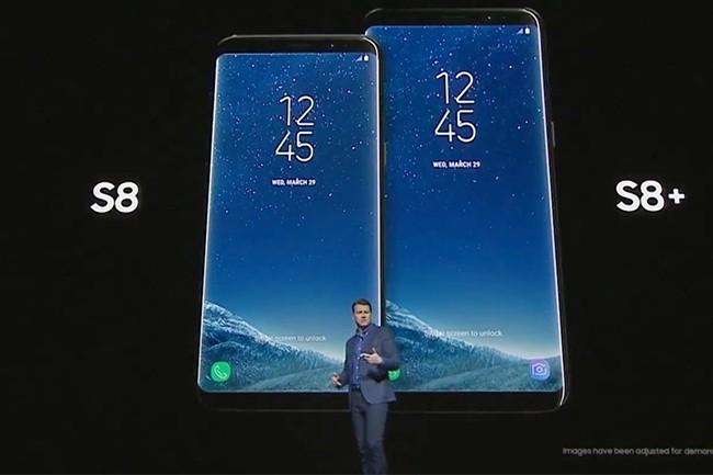 John Denison, senior vice-président de Samsung en charge de la stratégie produits a présenté les Galaxy S8 et S8 Plus en grandes pompes ce mercredi 29 mars 2017.