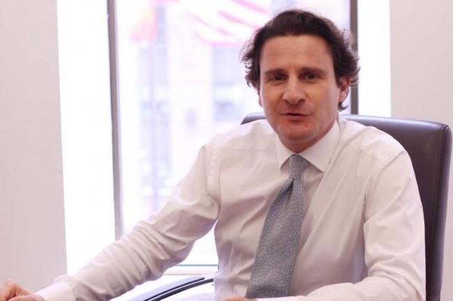 Arnaud Stevens, responsable énergie et matières premières de Natixis à New York, pilote le projet blockchain de la banque sur le trading de pétrole. (crédit : D.R.)