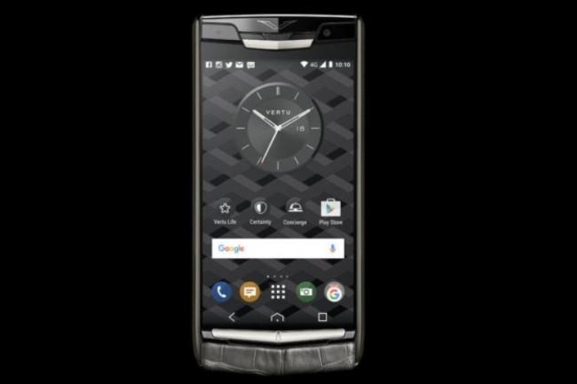 Les smartphones Signature Touch de Vertu sont proposés à partir de 6 500 euros. (crédit : Vertu)